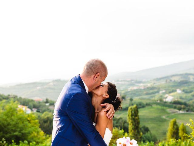 Il matrimonio di Tiziano e Francesca a San Floriano del Collio, Gorizia 400
