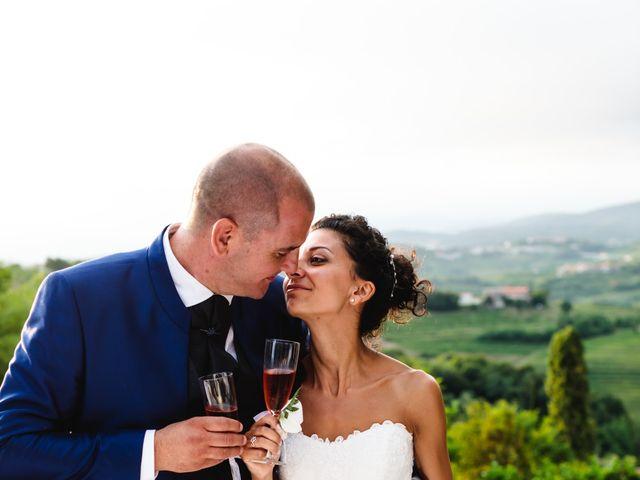 Il matrimonio di Tiziano e Francesca a San Floriano del Collio, Gorizia 402