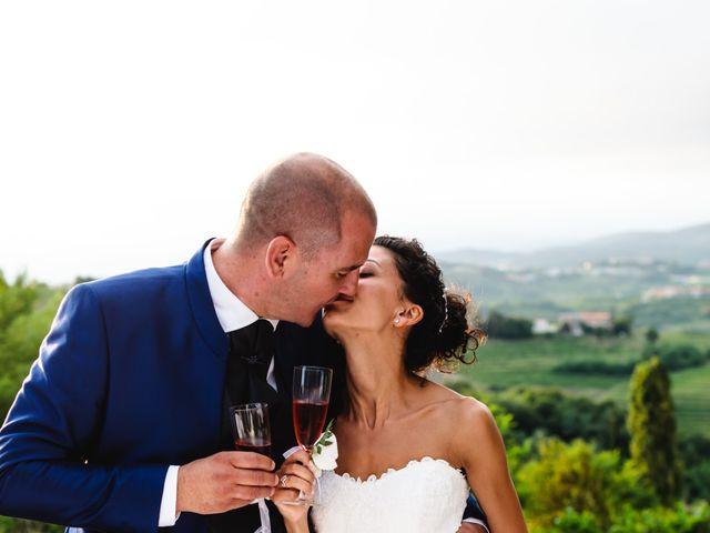 Il matrimonio di Tiziano e Francesca a San Floriano del Collio, Gorizia 403