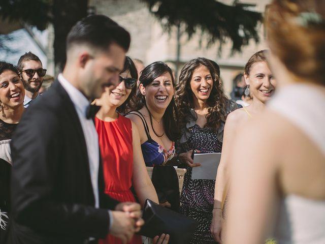 Il matrimonio di Federico e Rossella a Canossa, Reggio Emilia 107