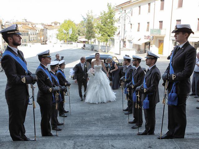 Il matrimonio di Fabiola e Edoardo a Pergo di Cortona, Arezzo 12