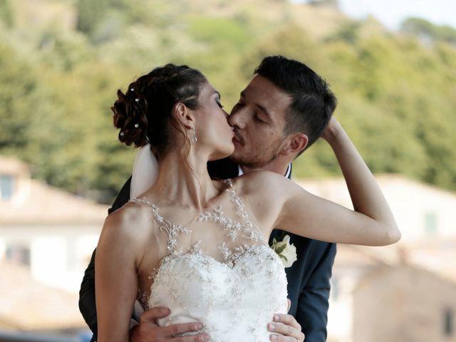 Il matrimonio di Fabiola e Edoardo a Pergo di Cortona, Arezzo 30
