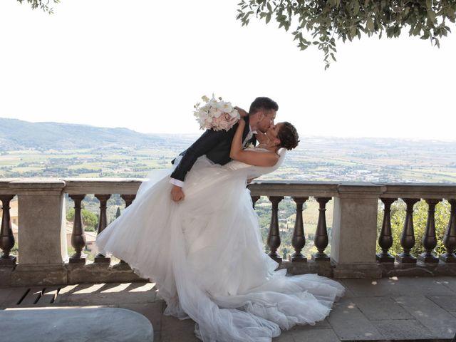 Il matrimonio di Fabiola e Edoardo a Pergo di Cortona, Arezzo 31