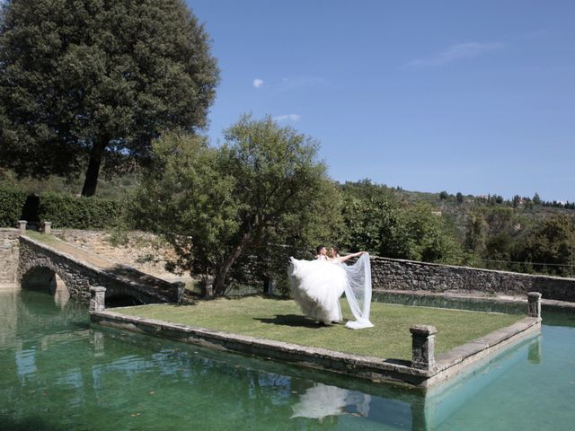 Il matrimonio di Fabiola e Edoardo a Pergo di Cortona, Arezzo 43