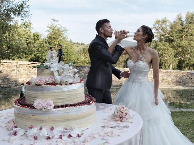 Il matrimonio di Fabiola e Edoardo a Pergo di Cortona, Arezzo 46