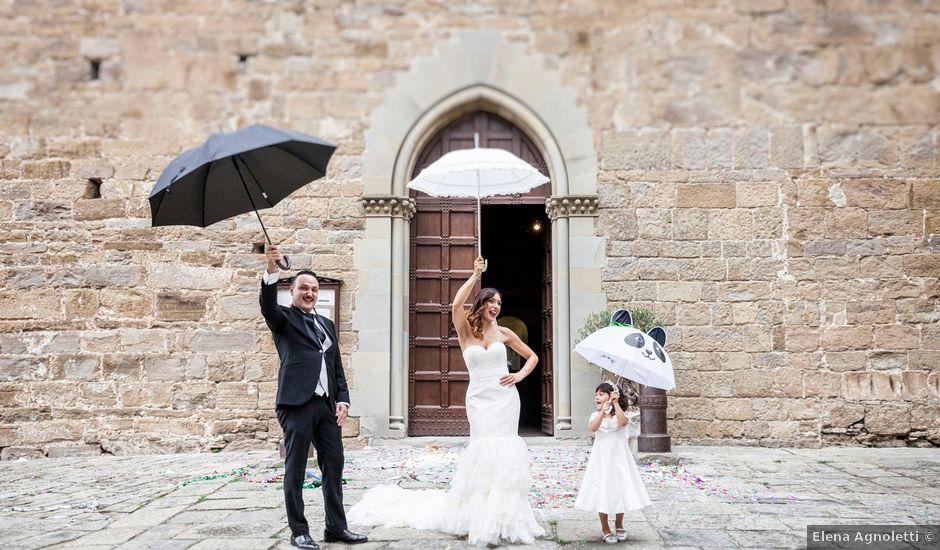 Il matrimonio di Daniele e Federica a Bibbiena, Arezzo