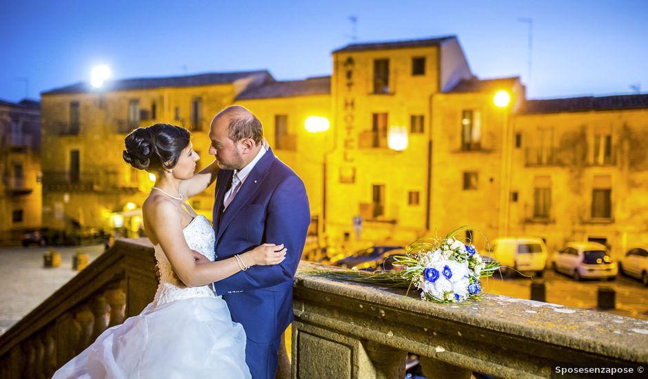 Il matrimonio di Dario e Loredana a Valguarnera Caropepe, Enna