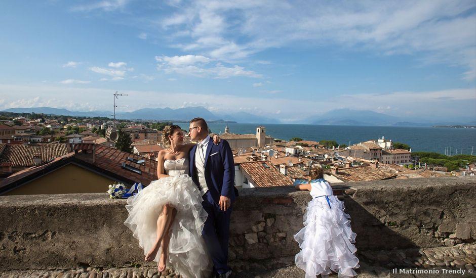 Il matrimonio di Stefano e Elena a Desenzano del Garda, Brescia