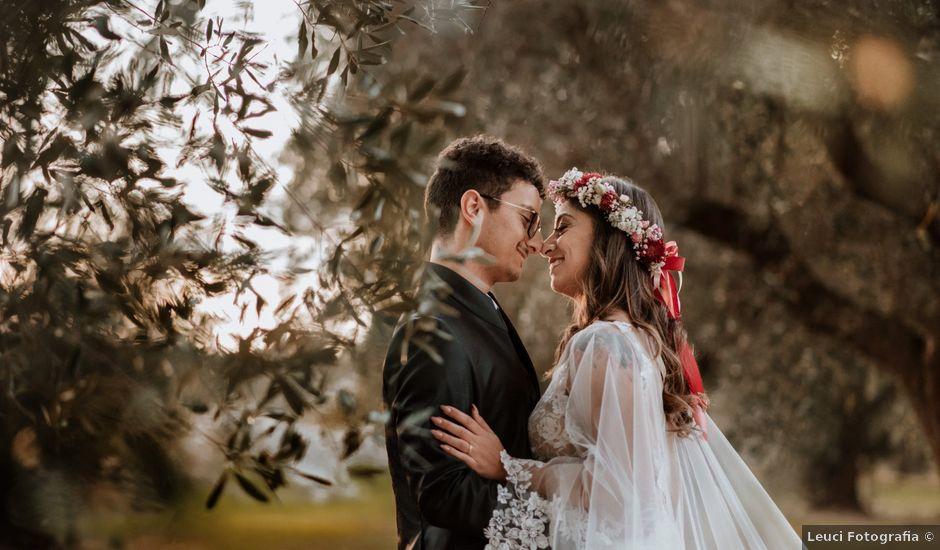 Il matrimonio di Cosimo e Francesca a Trepuzzi, Lecce