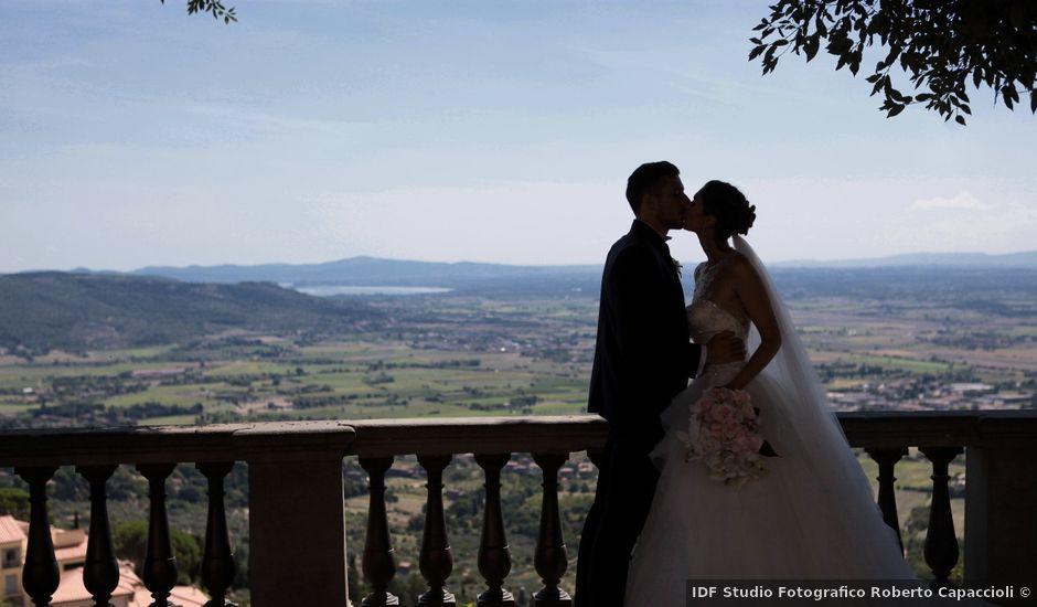 Il matrimonio di Fabiola e Edoardo a Pergo di Cortona, Arezzo