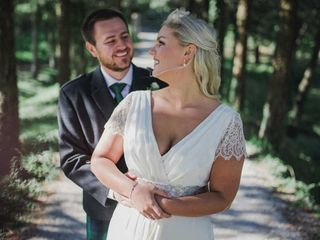 Le nozze di Jenny e Ross