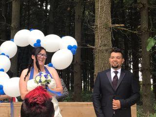 Le nozze di Eleonora e Clay