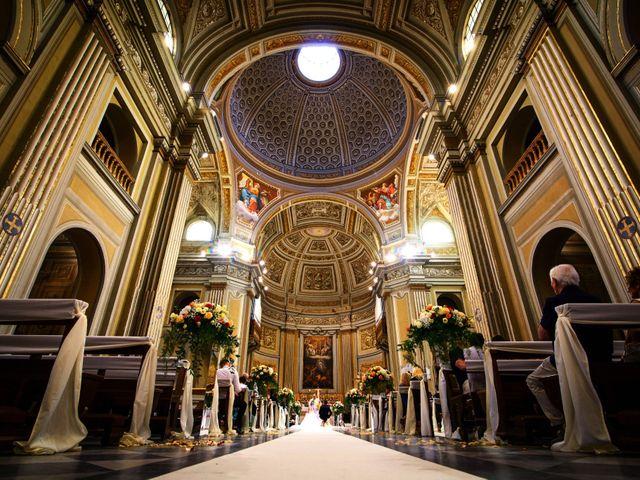 Il matrimonio di Simone e Rebecca a Genzano di Roma, Roma 8