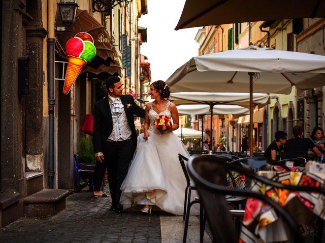 Il matrimonio di Simone e Rebecca a Genzano di Roma, Roma 13