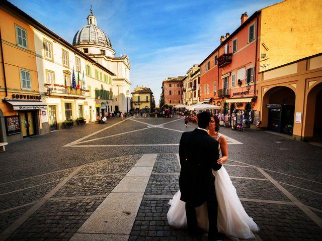 Il matrimonio di Simone e Rebecca a Genzano di Roma, Roma 17