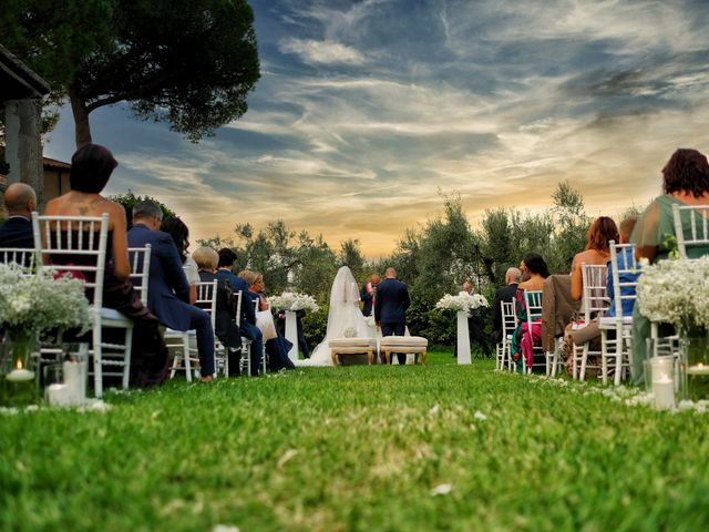 Il matrimonio di Michela e Stefano a Guidonia Montecelio, Roma 17