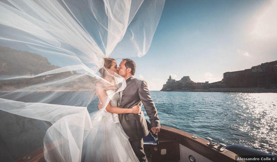 Il matrimonio di Enrico e Giancarla a Portovenere, La Spezia