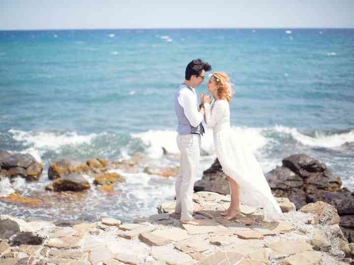Le nozze di Yuliya e Nicolò