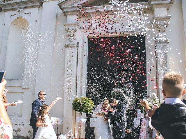 Il matrimonio di Marco e Giada a Giussago, Pavia 7