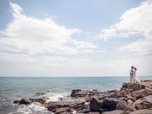Il matrimonio di Nicolò e Yuliya a San Lorenzo al Mare, Imperia 8