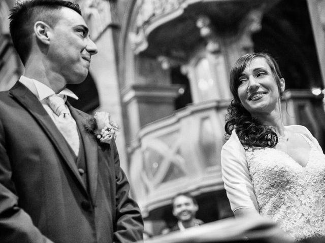 Il matrimonio di Andrea e Francesca a Pieve d'Olmi, Cremona 19