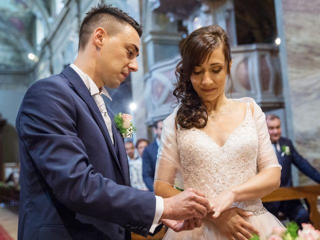 Il matrimonio di Andrea e Francesca a Pieve d'Olmi, Cremona 24