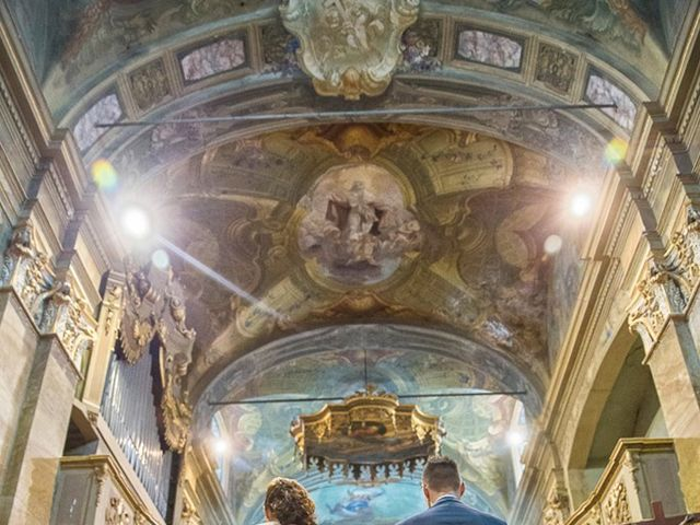 Il matrimonio di Andrea e Francesca a Pieve d'Olmi, Cremona 25