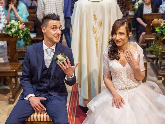 Il matrimonio di Andrea e Francesca a Pieve d'Olmi, Cremona 26