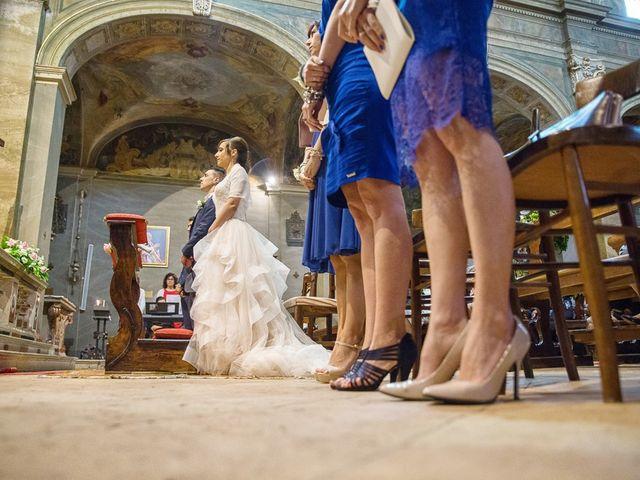 Il matrimonio di Andrea e Francesca a Pieve d'Olmi, Cremona 27