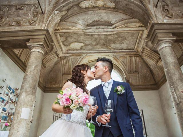 Il matrimonio di Andrea e Francesca a Pieve d'Olmi, Cremona 34