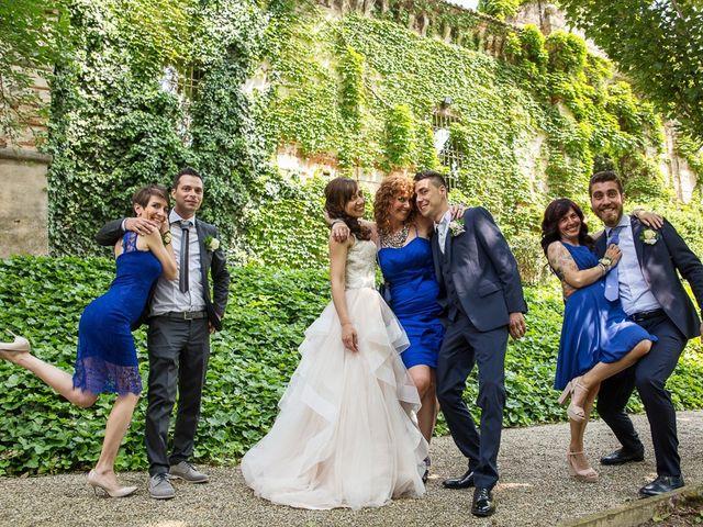 Il matrimonio di Andrea e Francesca a Pieve d'Olmi, Cremona 36