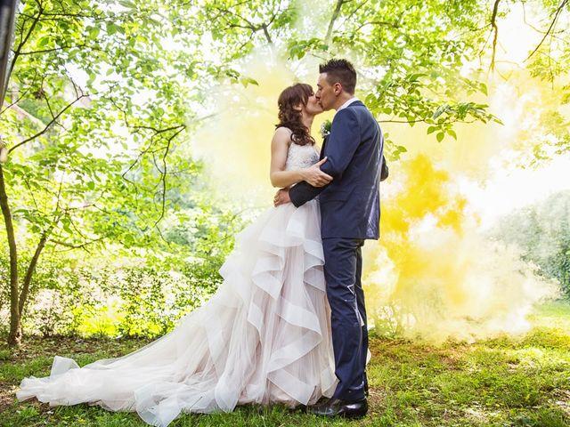 Il matrimonio di Andrea e Francesca a Pieve d'Olmi, Cremona 37
