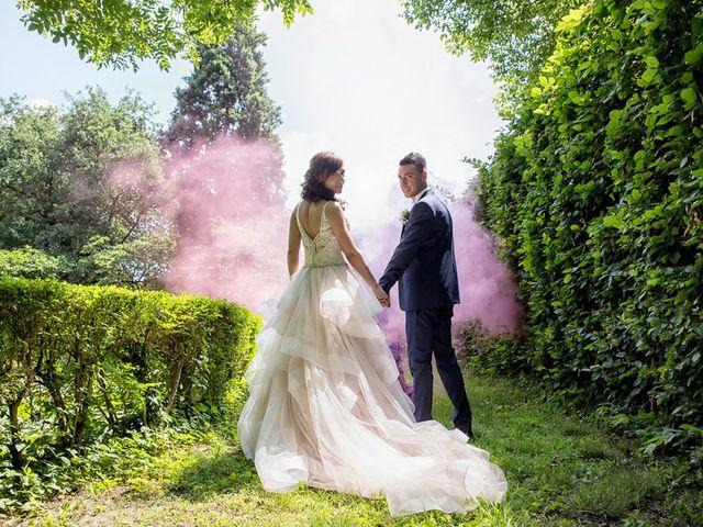 Il matrimonio di Andrea e Francesca a Pieve d'Olmi, Cremona 38
