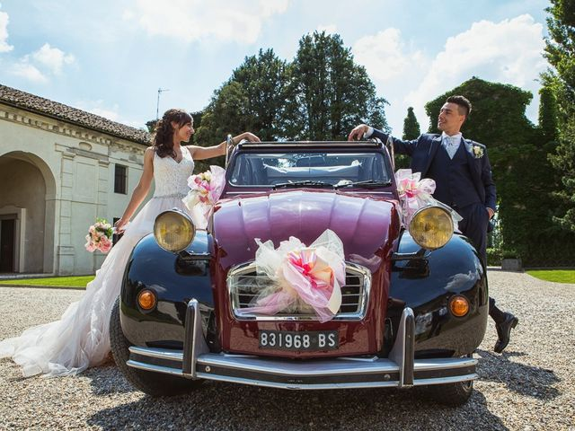 Il matrimonio di Andrea e Francesca a Pieve d'Olmi, Cremona 40