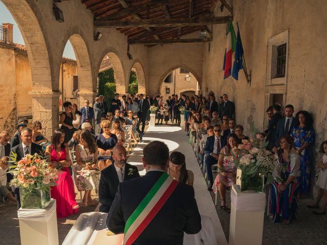 Il matrimonio di Claudio e Manuela a Sermoneta, Latina 13