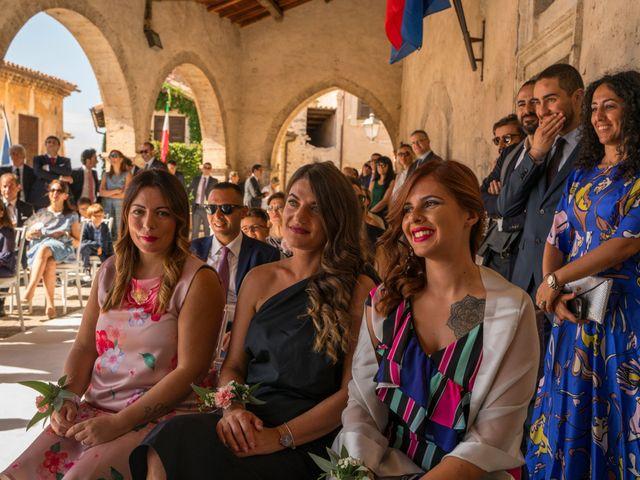 Il matrimonio di Claudio e Manuela a Sermoneta, Latina 16