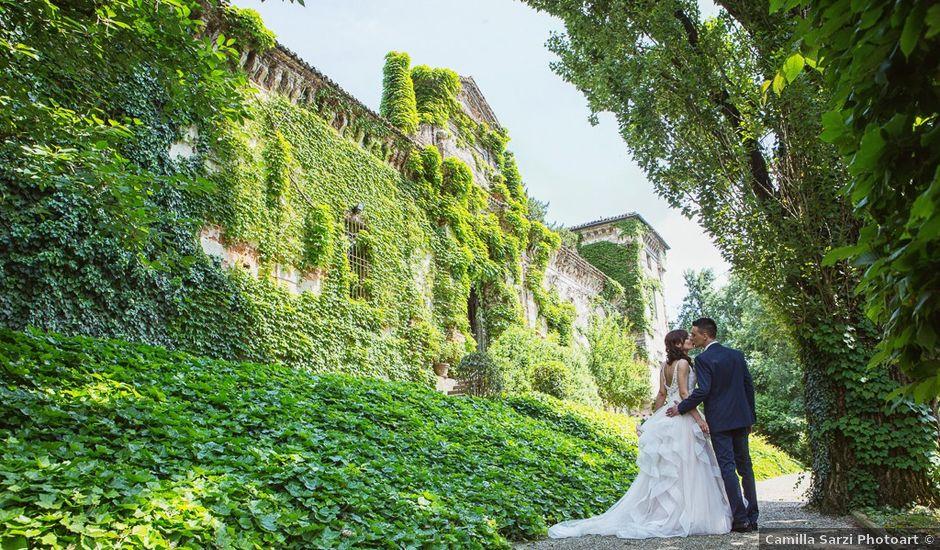 Il matrimonio di Andrea e Francesca a Pieve d'Olmi, Cremona