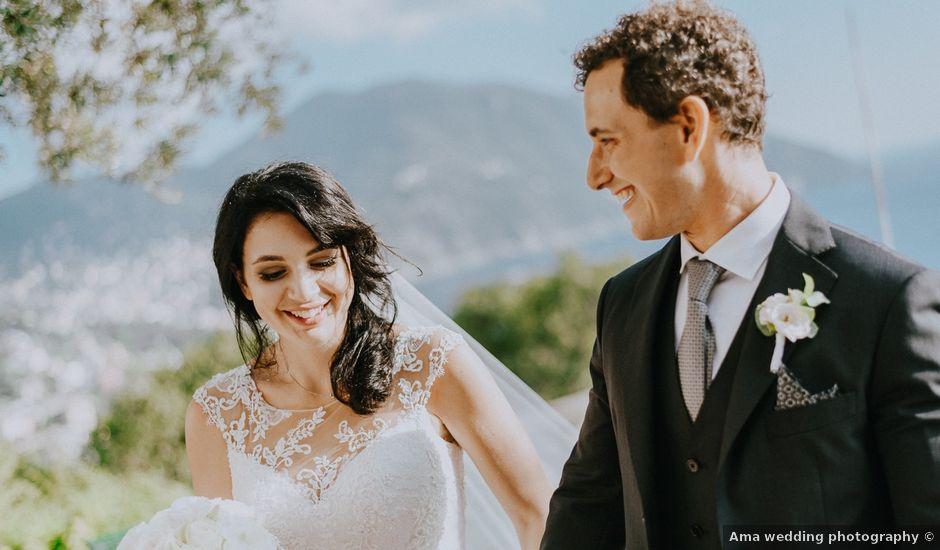 Il matrimonio di Niccolò e Anna a Zoagli, Genova