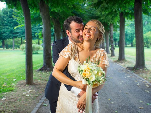 le nozze di Marta e Gianluca
