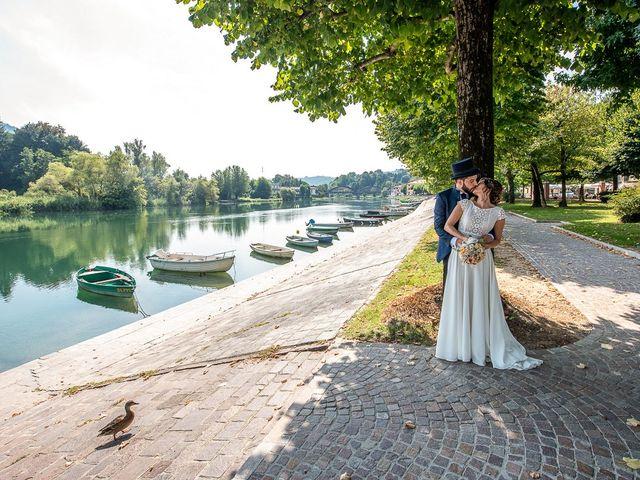 Il matrimonio di Cristofer e Irene a Caprino Bergamasco, Bergamo 30