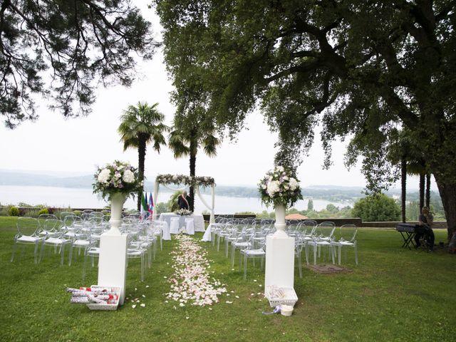 Il matrimonio di Luca e Stefania a Viverone, Biella 14