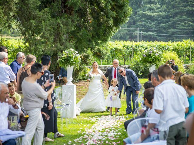 Il matrimonio di Luca e Stefania a Viverone, Biella 16