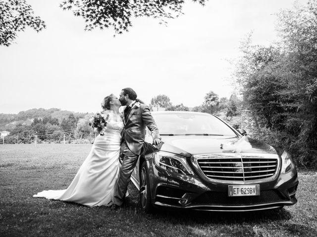 Il matrimonio di Luca e Stefania a Viverone, Biella 27