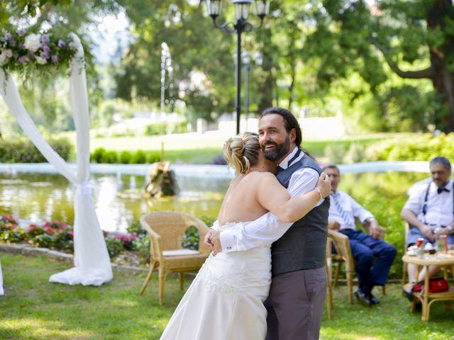 Il matrimonio di Luca e Stefania a Viverone, Biella 45
