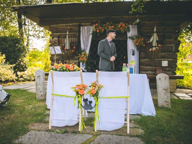 Il matrimonio di Riccardo e Melissa a Novedrate, Como 56