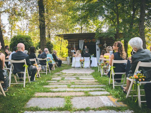 Il matrimonio di Riccardo e Melissa a Novedrate, Como 83