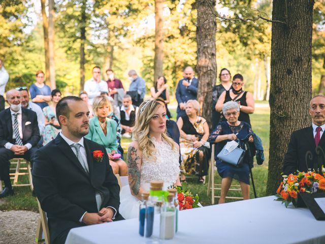 Il matrimonio di Riccardo e Melissa a Novedrate, Como 89