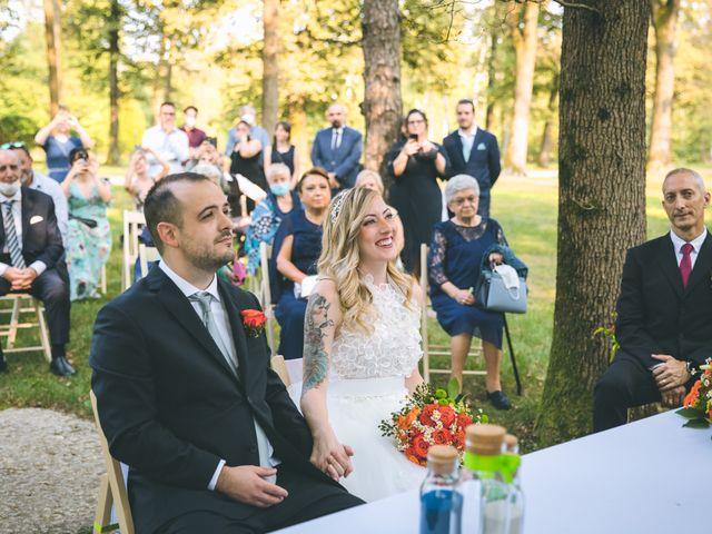 Il matrimonio di Riccardo e Melissa a Novedrate, Como 94