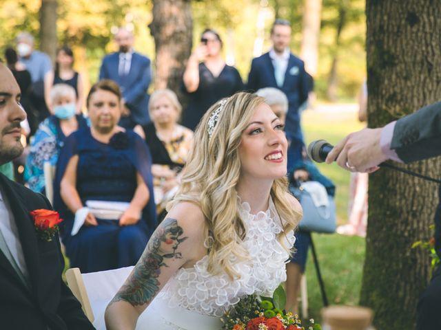 Il matrimonio di Riccardo e Melissa a Novedrate, Como 97