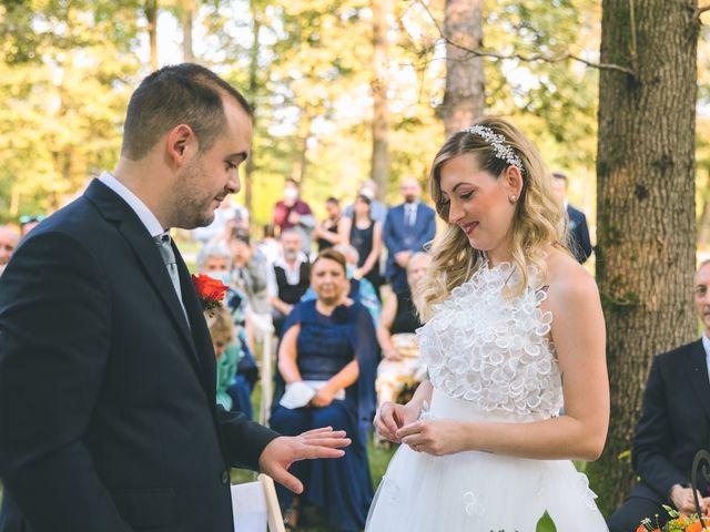 Il matrimonio di Riccardo e Melissa a Novedrate, Como 107